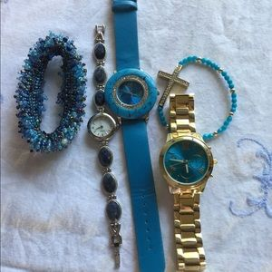 Accessories - 3 watches and 2 bracelets